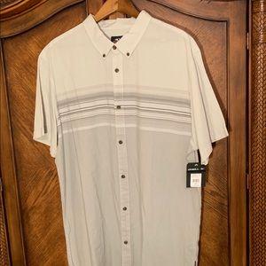 Men's O'Neill s/s button down shirt new